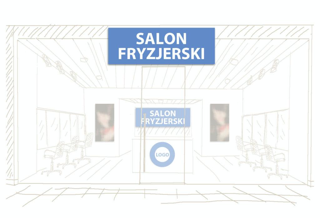 szyld reklama logo witryna